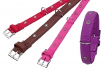 Halsband Art Buffalo Deco, rot, L.50cm, B.30mm -L-